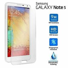 2 x SAMSUNG GALAXY NOTE 5 PREMIUM TEMPERED GLASS SCREEN PROTECTOR GUARD