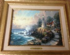 TheLight of PeaceThomas Kinkade 16x201998 Gold Frame Certificate of Authenticity
