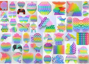 Pop it Fidget Pastell Bubble Pop Trend Spielzeug Toy Anti Stress Blubber Klick