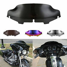 "6"" Black Windshield Windscreen For 96-13 Harley Touring Street Glide Electra tri"