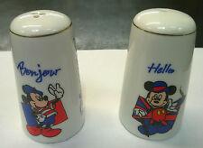 Disney Diseyana Disneyland Paris Mickey Mouse Novelty Salt & Pepper Cruet Set