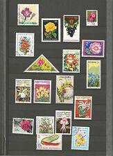 Blumen Pflanzen Sellos Stamps