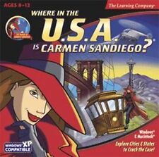 Where in the Usa is Carmen SanDiego? Learn U.S. Geography & History New Sealed