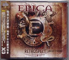 Epica: Retrospect (2013) 3-CD OBI TAIWAN SEALED