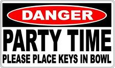 PARTY TIME SWINGERS DANGER SIGN - Perfect for Bar Gift Pool Room Man Cave