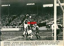 Photo presse Football 1948 CAP Stade français Ben Barek Dupraz sport