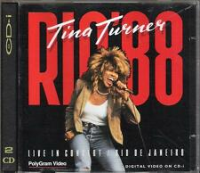 "TINA TURNER - RARO DOPPIO CD-I "" RIO '88  "" DIGITAL VIDEO"