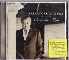 Salvatore Licitra: Forbidden Love Verdi Giordano MASCAGNI Boito Rossini Cilea CD