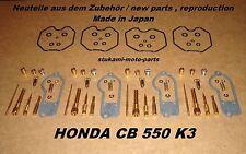 Honda CB 550 K3 Vergaser - Reparatur Sets CB550K3 carburator repair kits KEYSTER
