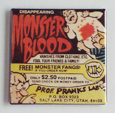Monster Blood FRIDGE MAGNET (2 x 2 inches) comic book advertisement