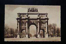 Paris Et Ses Merveilles Arc de Triomphe/Triumph du Carrousel RP Postcard 1900s