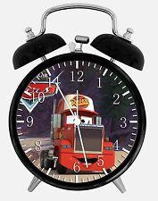 "Disney Cars Mack Alarm Desk Clock 3.75"" Room Decor X24 Nice for Gifts wake up"