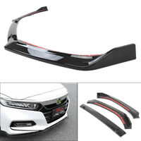 Front Bumper Lip Trim Around Grill Below Cover Spilter For Honda Accord 2018-20