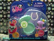 Littlest Pet Shop Collectible Purple OCTOPUS lot #1309 w/Pearls Rare Retired NIB