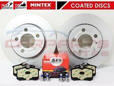 FOR VW GOLF 1.8 T GTI MK4 ANNIVERSARY 01-05 REAR BRAKE DISCS MINTEX PADS 256mm