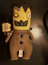 "Halloween ""Frankie Sfein"" Doll by Junker Jane Fabric Doll Nwt Gallerie 2"