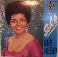 Lys Assia - Salute - 1964 -Telefunken Brasilien XT-LP-3.011 - sehr seltene LP !