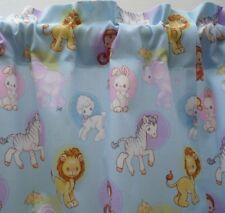 1.57m  x 35cm Valance Curtain Baby Nursery Children Cottage Caravan Noah Animals