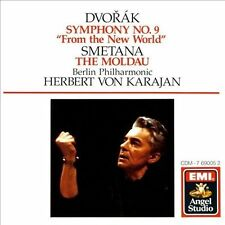 SMETANA - The Moldau - BERLING PHILHARMONIC Herbert Von Karajan CD