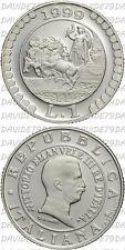 03034] REPUBBLICA ITALIANA - STORIA DELLA LIRA 1999 - 1 LIRA 1915 ARGENTO PROOF