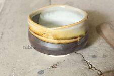 Mino ware Japanese matcha tea bowl toku uchi unofu made by Marusho kiln