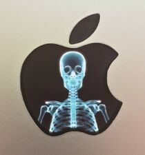 GLOWING X-RAY SKELETON  Apple MacBook Pro Air Mac Laptop DECAL 11,12,13,15,17 in