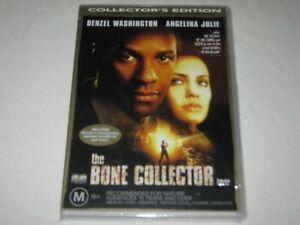 The Bone Collector - Denzel Washington - Brand New & Sealed - Region 4 - DVD