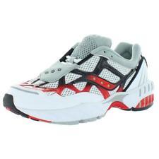 Saucony Para Hombre Cuadrícula Web Malla plantilla acolchada entrenador Tenis Zapatos BHFO 8143