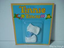 Chaussons blanc et bleues Tinnie Tinou Ref:810022 / Kenner Parker [ Neuf ]
