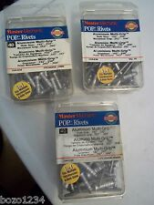 3 Bnib Pop Rivets 120 Total Count Aluminum Multi Grip Master Mechanic 244-038