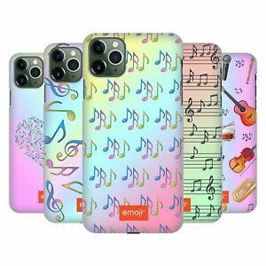 OFFICIAL emoji® MUSIC PATTERNS BACK CASE FOR APPLE iPHONE PHONES