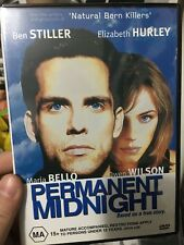 Permanent Midnight region 4 DVD (1998 Ben Stiller drama movie) * rare *