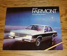 Original 1980 Ford Fairmont Sales Brochure 80 7/79 Futura Ghia ES Wagon
