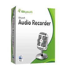 Audio Recorder MAC iSkysoft lifetime dt. Vollver. ESD Download 14,99 statt 29,-!