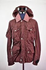 Mens CP Company Shimmer Red Mille Migila Watchviewer Goggle Jacket Size 54/52 XL