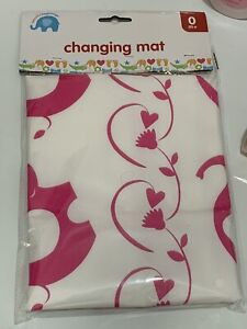 Travel Changing Mat Waterproof Pink Colour
