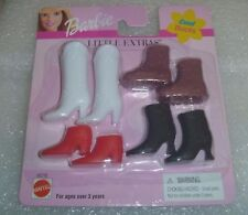 """Barbie  - MOC or Mint in Package """" Little Extras """" """" Cool BOOTS""""  New  Mattel"""