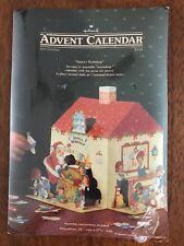 Hallmark Advent Calendar Santa's Workshop With Envelope 350XC1-5 New