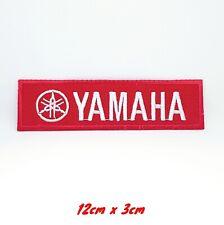 Yamaha Rennen Formel 1 Biker Bestickt Nähen / Bügel Patch #163