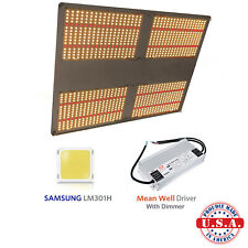 500w QUANTUM LED Light V3+660nm, SAMSUNG LM301H Full Spec vegg/flower+dimmer