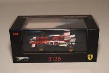V 1:43 HOTWHEELS ELITE FERRARI 312B WINNER GP CANADA 1970 JACKY ICKX F1 MIB