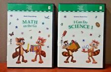I Can Do Science 1 &  Math On The Go (Math Sing along) 2 DVD Set   LIKE NEW