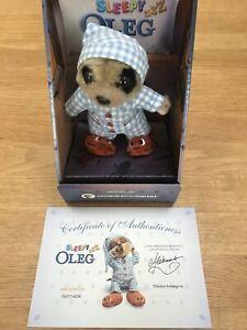 Sleepy Oleg Meerkat Toy With Certificate Brand New In Box