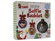 Grafix Tinsel Town créer votre propre Selfie SAPIN DE NOËL BOULES NOËL DÉCO