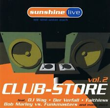 Sunshine Live - Club-Store Vol.2 -CD NEU Faithless Der Verfall Danke Anne Bossi