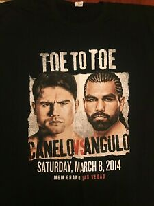 "Saul ""Canelo"" Alvarez vs Alfredo ""El Perro"" Angulo, T-Shirt 2XL"
