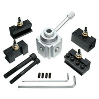 Mini Quick Change Tool Post Holder Aluminum Alloy Holder Lathe Tool