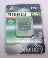 Lexar Tarjeta De Memoria Stick 256MB Pro Duo Psp 1000 2000 3000 Cámara Sony Cybershot
