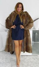 Pelzmantel Pelzjacke echt Musquash Mink Fox Fur coat fourrure Pelliccia visone