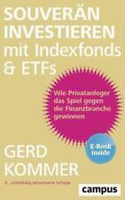 Souverän investieren mit Indexfonds und ETFs von Gerd Kommer (2018, Set mit dive